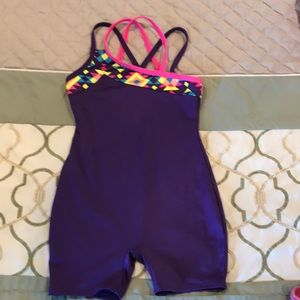 Girls gymnastic/dance outfit